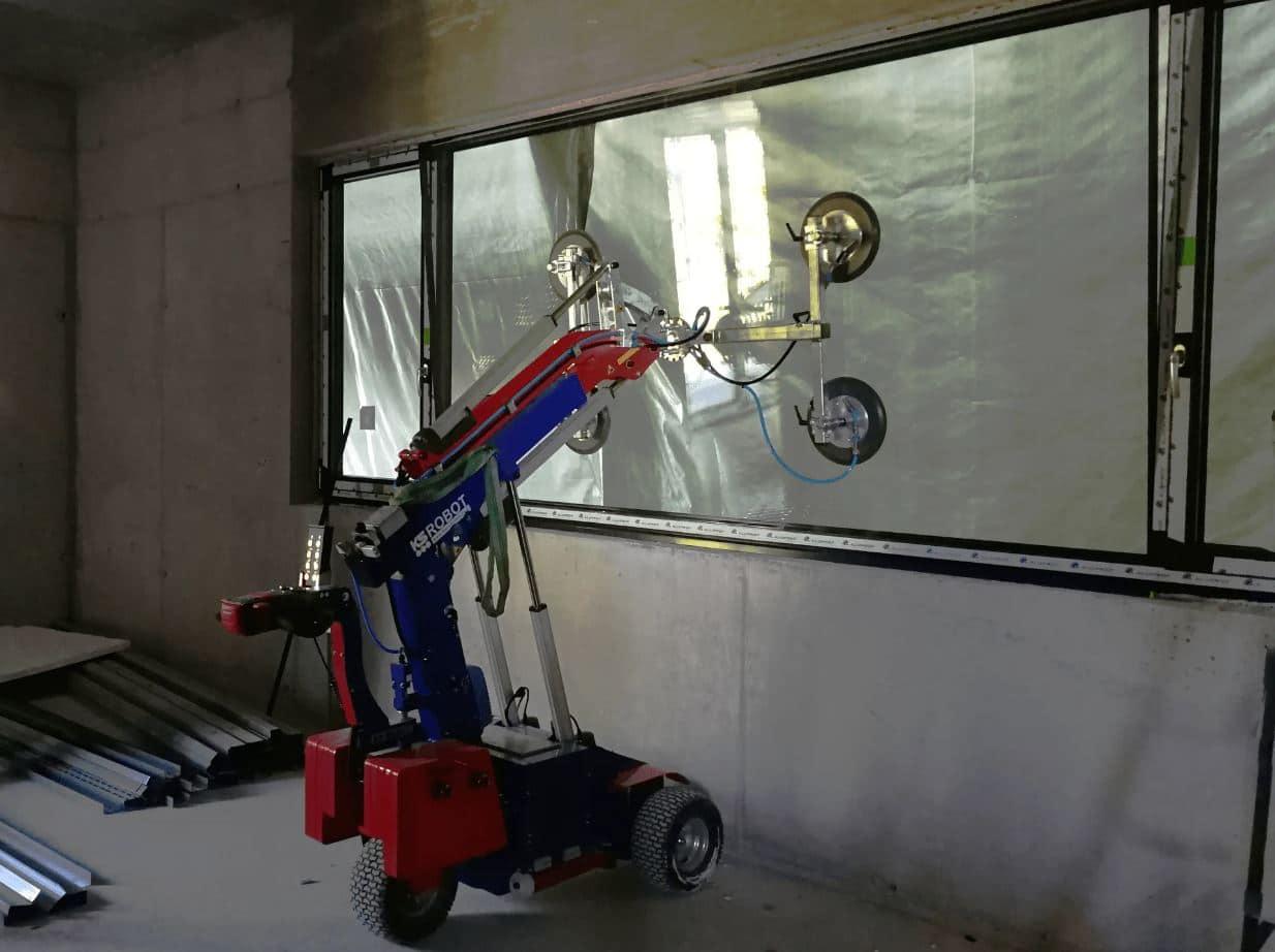 Kleiner-Glasmontagelift